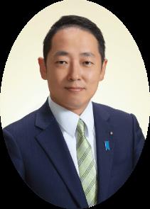 宇部市長 篠﨑圭二 写真