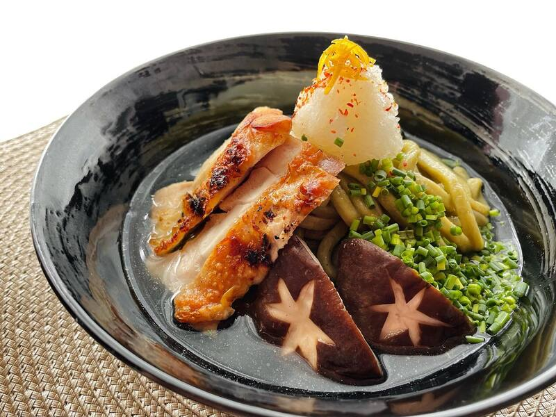 YAMAGUCHI 茶うどん・冷凍野菜セット