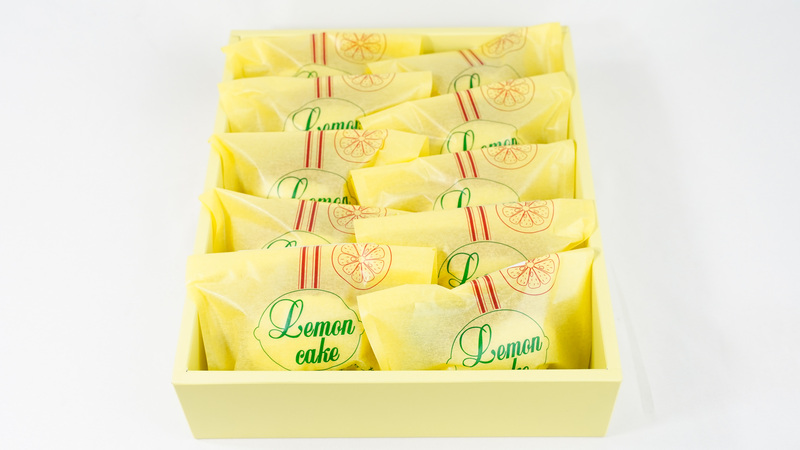 山口レモンケーキ 10個入り