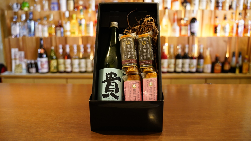宇部のおすすめ!日本酒とおつまみギフトセット